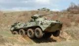 В России солдат-срочник сжег новый БТР, готовить обед на костре