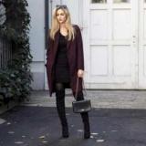 Бордовое пальто: с чем носить? Лучшее сочетание, рекомендации профессионалов
