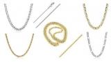 Ткани love: описание. Золотые цепочки для женщин