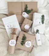 Как упаковка подарков бумага и ленты?